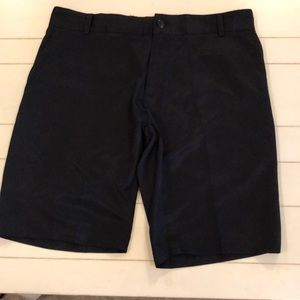 Men's adidas climalite polyester shorts in black